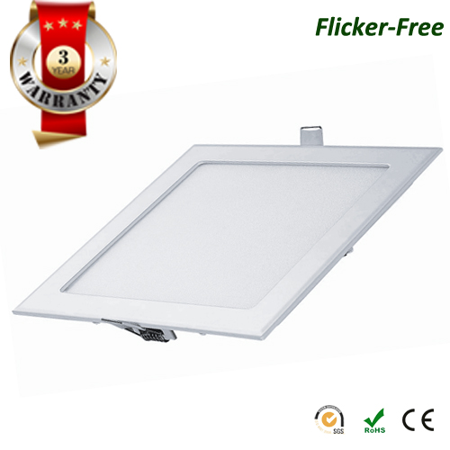 led-silm-panel-square-recessed-flicker-free-series