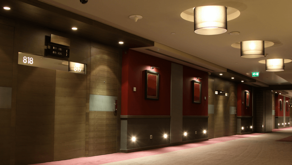 Lighting in Hotels-TIECO