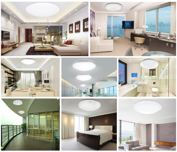 Round LED Ceiling Lights Ecotube Series-TIECO