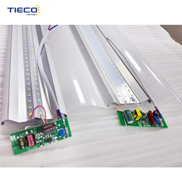 LED batten structure