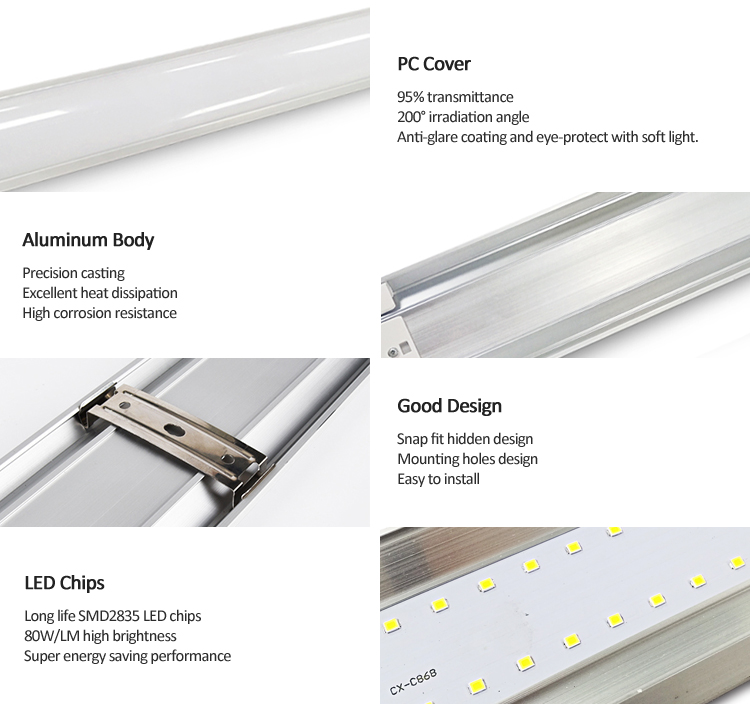 LED batten lights Ecotube Series-TIECO